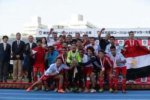 カイロが初優勝、日本勢はFC東京が5位入賞…東京国際ユース大会