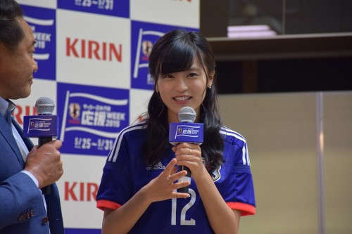 こじるり、澤の1年ぶりなでしこ復帰弾に「女王は違う。女子サッカーの神様」