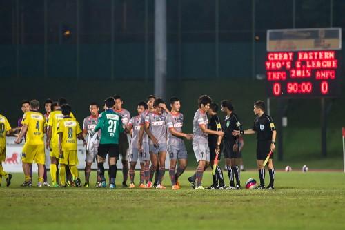 アルビレックス新潟シンガポールがタンピネスとドローで8戦無敗