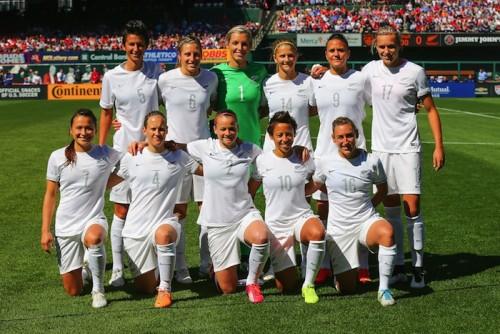 なでしこ、W杯前哨戦へ…ニュージーランド女子代表の来日メンバー発表