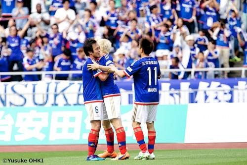 三門が古巣新潟との初対戦で決勝点…横浜FMが2連勝で6位に浮上