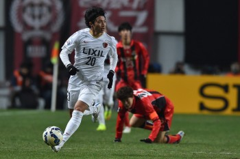 XXX of XXX --- during the AFC Champions League Group H match between FC Seoul and  Kashima Antlers at Seoul World Cup Stadium on March 4, 2015 in Seoul, South Korea.
