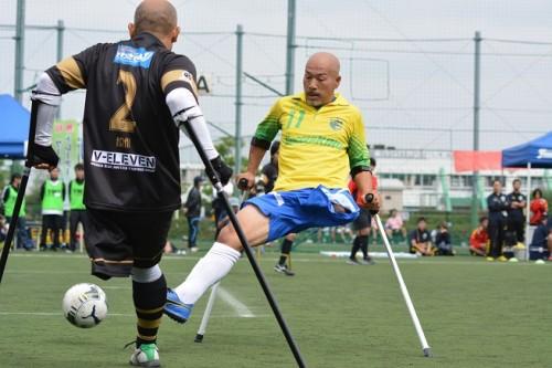 アンプティサッカー全国大会が大阪で開催…初のオールスター戦も実施