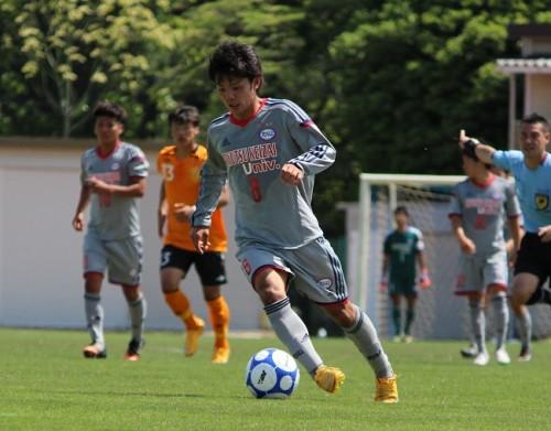 流通経済大、田上&西谷弾で中央大に勝利…開幕から無敗キープで首位浮上/関東大学リーグ