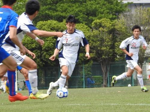 東洋大、痛恨の引き分け…数的有利も得点には結びつかず/関東大学リーグ