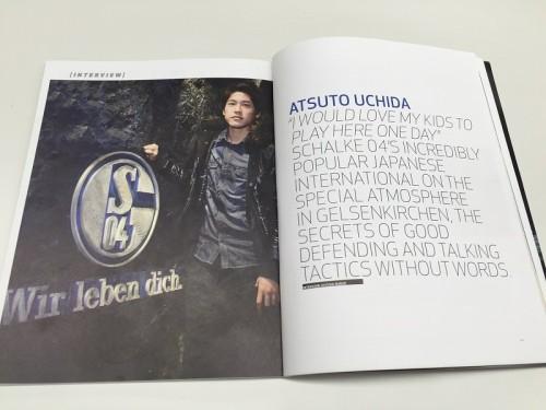 入籍発表の内田篤人、ブンデス公式誌で告白「いつか子どもがシャルケで」