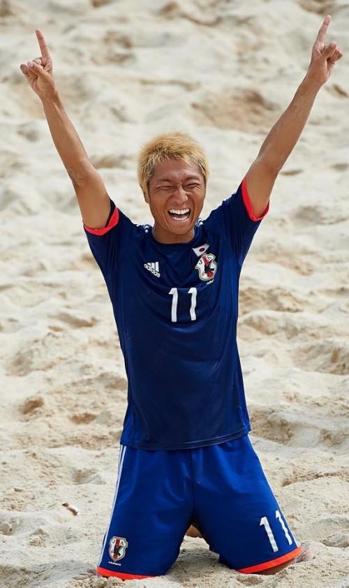 W杯メンバー選出、ビーチ日本代表の後藤「世界で一番点を取る」