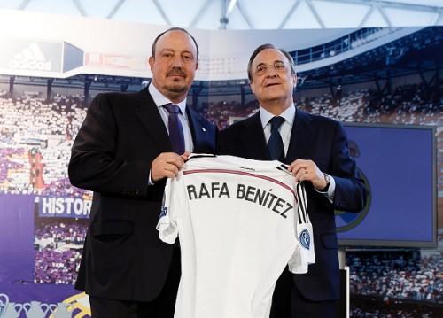 レアルの大型補強は確実? ベニテス新監督、ここ13シーズンで104人もの戦力を獲得