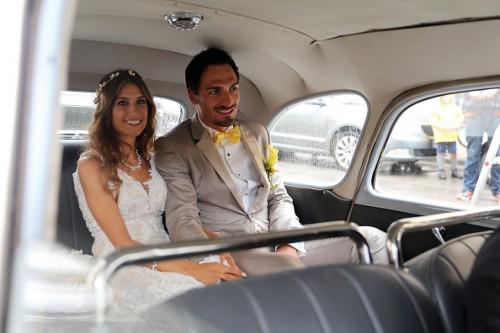 ドルトムントのフンメルス、結婚式当日に追突事故に遭遇…8000ユーロの被害に