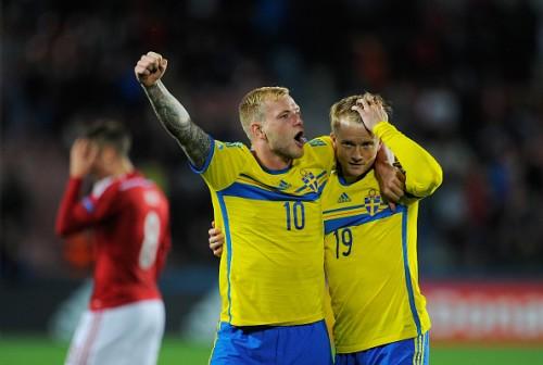 北欧対決を制したスウェーデン代表FWがデンマークを酷評「今大会で最低のチーム」