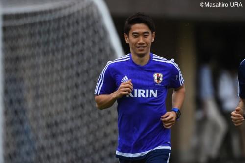 自身3度目のW杯予選となる香川「世界で勝つことを意識して臨む」