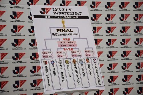 ナビスコ杯準々決勝の組み合わせ決定…前回王者G大阪は名古屋と対戦