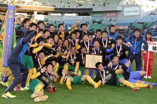 冬の風物詩、高校サッカー選手権の最多優勝校は兵庫の御影師範