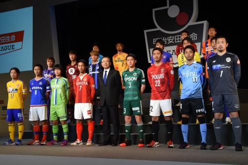 明治安田生命がJリーグ全52クラブのユニフォーム展示会を開催…7月4、5日は一般公開