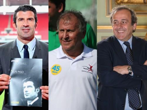 FIFA会長選の立候補者ベスト11…ジーコやプラティニらで豪華な顔ぶれ?