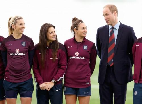 W杯初4強のイングランド…ウィリアム王子「日本戦を待ちきれない」