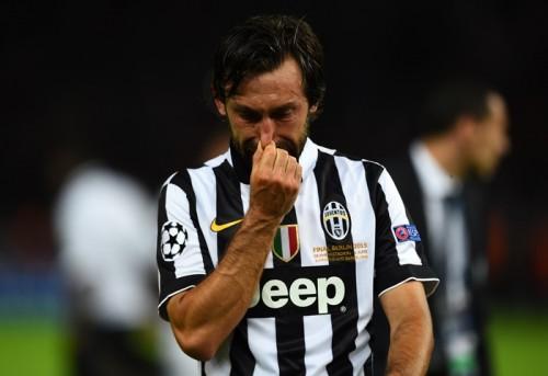 退団報道のピルロ、ユーヴェ残留か…決勝で流した涙の理由を明かす