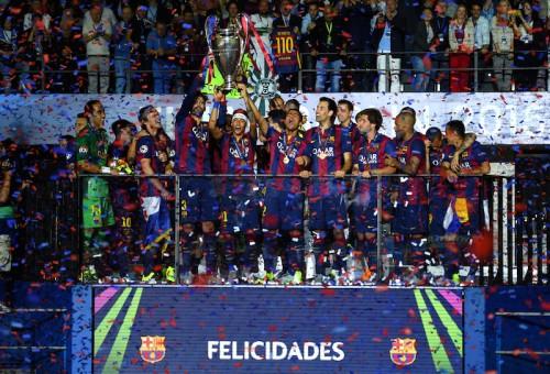 欧州王者に輝いたバルセロナ、12月開催のクラブW杯で来日が決定