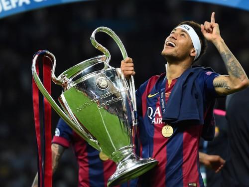 ネイマールが史上8人目の選手に…欧州と南米でクラブ王者に輝く