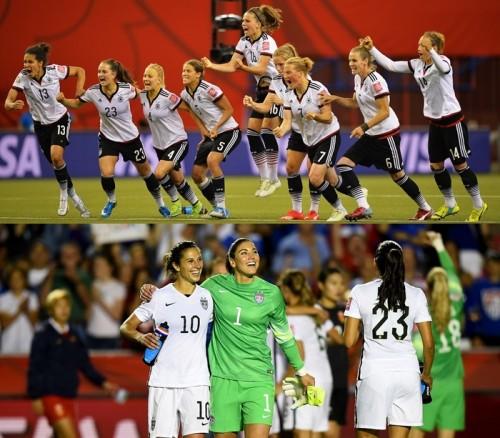 激戦を制したドイツとアメリカが準決勝進出…強豪フランスが敗退/女子W杯準々決勝