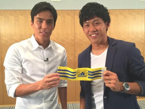 長谷部誠と遠藤航のキャプテン対談が実現…6月28日「やべっちFC」で放送