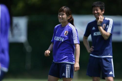 W杯連覇へ…なでしこFW川澄奈穂美は組織力に自信「世界一だと思っている」