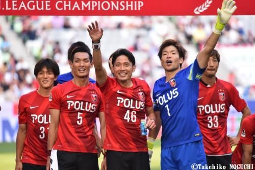 浦和が無敗で第1ステージ優勝…新潟が7戦ぶり勝利で最下位脱出/J1・1st第16節