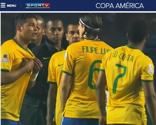 ブラジル代表T・シウヴァ、コパ・アメリカでの痛恨ハンドに全力でとぼけていた