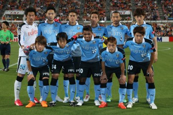 (EDITORIAL USE ONLY) xxx during the J.League match between Shimizu S-Pulse and Kawasaki Frontale at IAI Stadium Nihondaira on May 30, 2015 in Shizuoka, Japan.