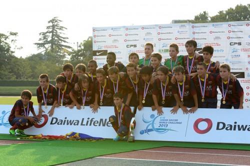 バルサら参加…U-12ジュニアサッカーワールドチャレンジ2015が開催決定