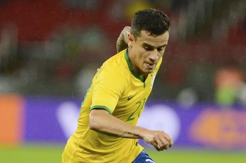 ブラジル代表MFコウチーニョ「ネイマール不在で弱いと言われたくない」