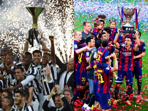 迫るユーヴェ対バルサの決勝…CL制覇含めた3冠達成は過去7チーム