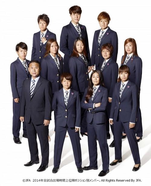 なでしこジャパン着用の公式スーツがリニューアル、強さと華やかさを表現