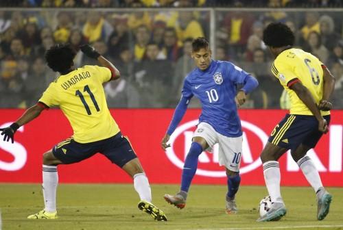 ブラジル、ドゥンガ就任後初黒星…ネイマールはレッド受け出場停止に