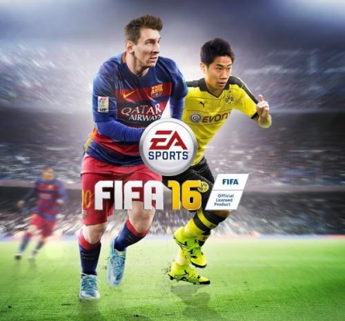 香川が人気サッカーゲーム「FIFA」最新作の日本版パッケージを飾る