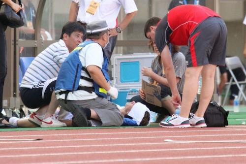 熱中症で2選手が救急搬送…夏場の大会運営見直しが必要か/国際ユースサッカー新潟