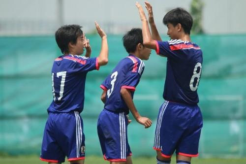 U-15代表、広島JYとの日本勢対決を制しメコン交流プログラム優勝