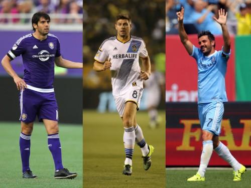 豪華MLSオールスター、デビュー前のジェラード&ランパードも選出
