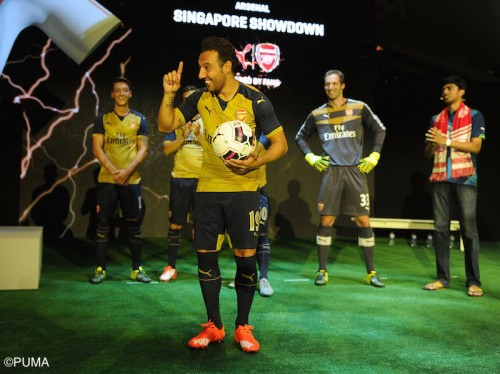 Arsenal in Singapore - Day 2