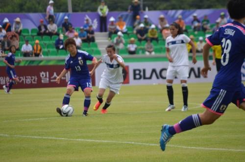 ユニバ女子、圧巻のゴールラッシュ…14得点でコロンビアに勝利