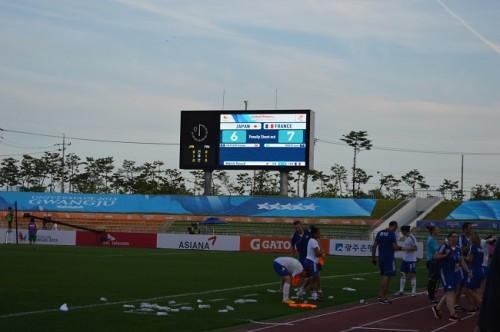 PK戦の末、準決勝敗退のユニバ女子「必ず銅メダルを」