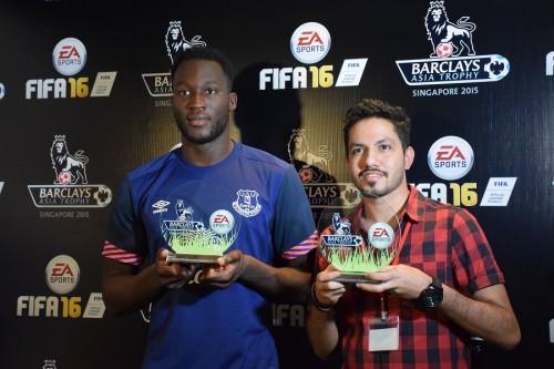 エヴァートンFWルカクはゲームの名手…『FIFA』最新作トーナメントで優勝