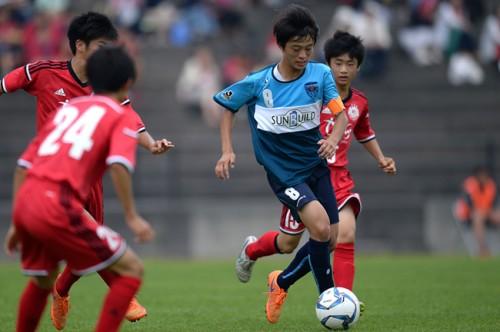 横浜FCがクラブユース選手権U-15関東予選で優勝