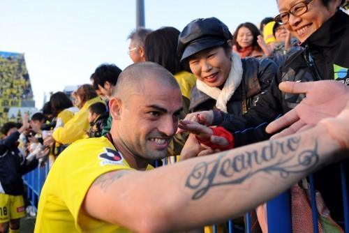 FWレアンドロが7年ぶりに神戸復帰「前回在籍時よりいいプレーする」