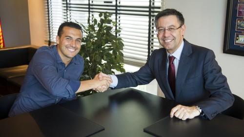バルサFWペドロ、契約延長もクラブの補強に不安「デリケートな状況」