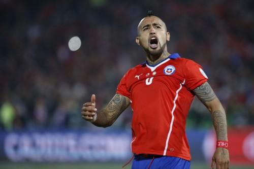 チリの南米初制覇に貢献したビダル、レアルと5年契約で個人合意か