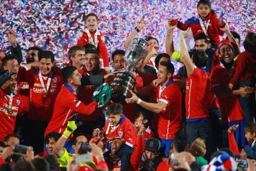熱戦続いたコパ・アメリカが閉幕…決勝はチリの組織力が個のアルゼンチンを上回る