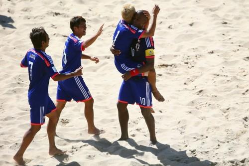 日本がアルゼンチンに逆転勝利…最終戦勝利で決勝Tへ/ビーチサッカーW杯