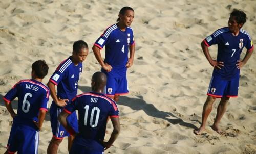 日本、オズの開始20秒弾もイタリアに惜敗…ベスト4の壁を越えられず/ビーチサッカーW杯