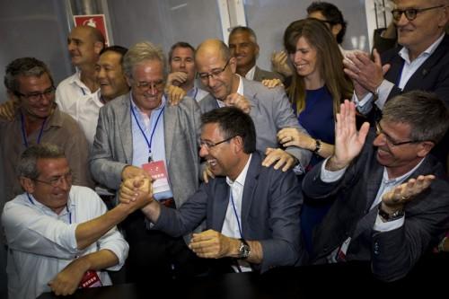 バルサ会長選…バルトメウ会長がライバルに1万票差をつけて再選